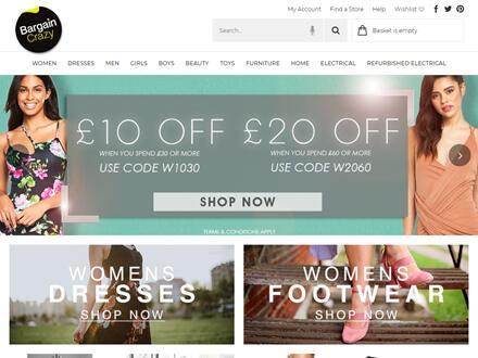 Bargain Crazy Catalogue Website