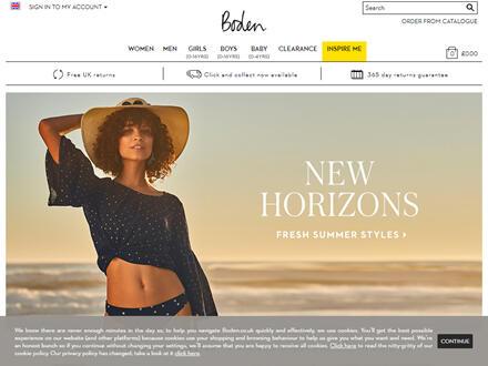 Boden Catalogue Website