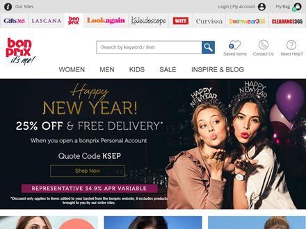 Bon Prix Catalogue Website