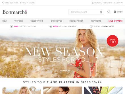 Bonmarché Catalogue Website