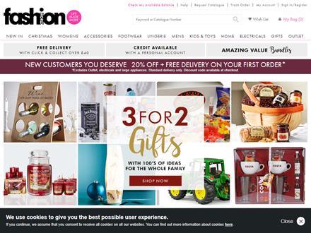 Fashion World Catalogue Website