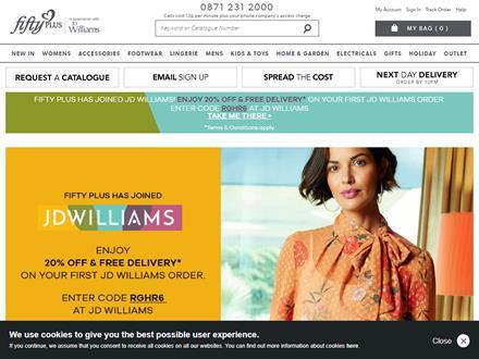Fifty Plus Catalogue Website