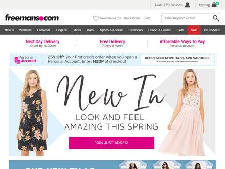 Freemans Catalogue Website