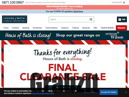 House Of Bath Catalogue Website