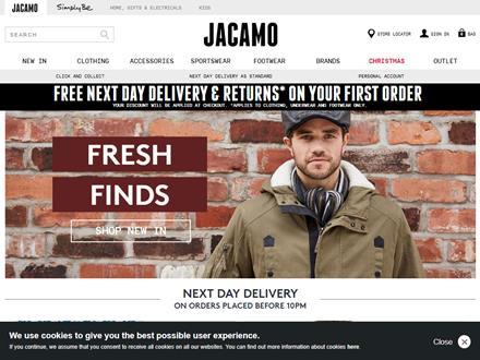 Jacamo Catalogue Website