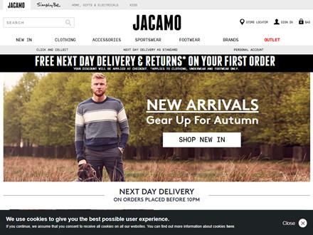 Jacamo Catalogue Website