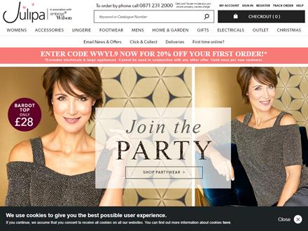 Julipa Catalogue Website