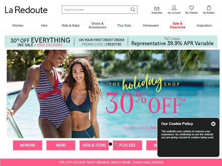La Redoute Catalogue Website