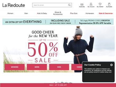 La Redoute Catalogue Website