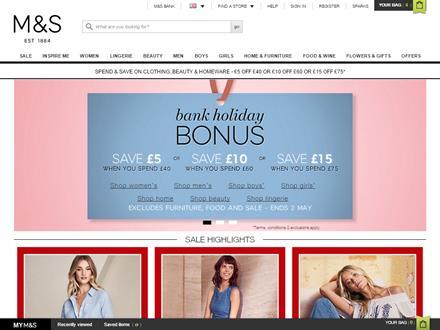 Marks And Spencer Catalogue Website