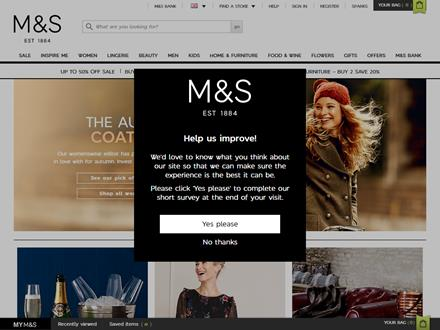 Marks And Spencer Catalogue Website