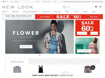 New Look Catalogue Website