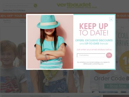 Vertbaudet Catalogue Website