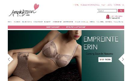 Ample Bosom Catalogue Website