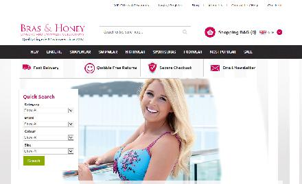 Bras and Honey Catalogue Website