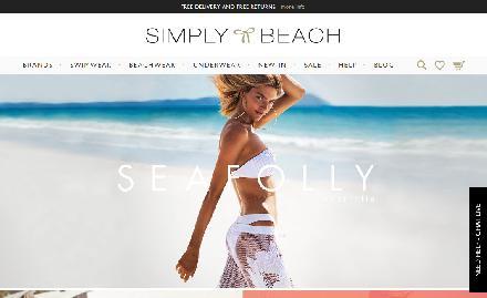 Simply Beach Catalogue Website