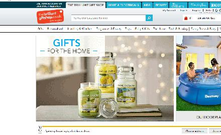 The Brilliant Gift Shop Catalogue Website